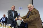 GW0WEE receiving trophy from VPG3WGM