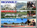 VK6LC-HK Colombia-qsl