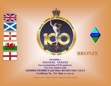 Centenary Bronze